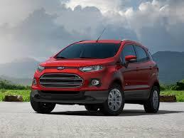 Ford ecosport nhỏ ngọn, linh hoạt.
