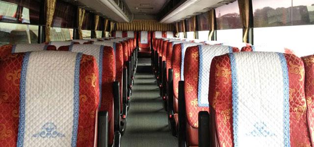 Bên trong xe Huyndai Aero Express Hi Class