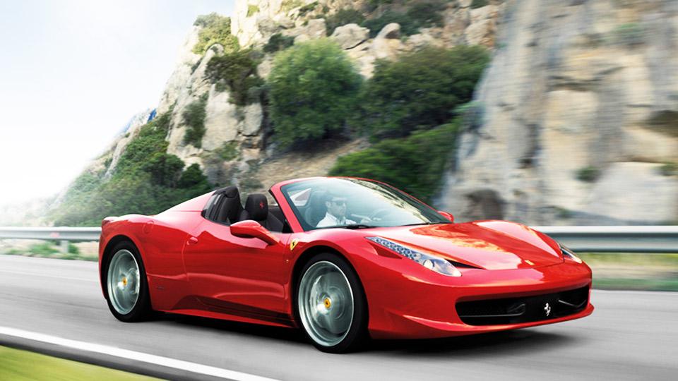 Ferrari 458 Spyder đỏ
