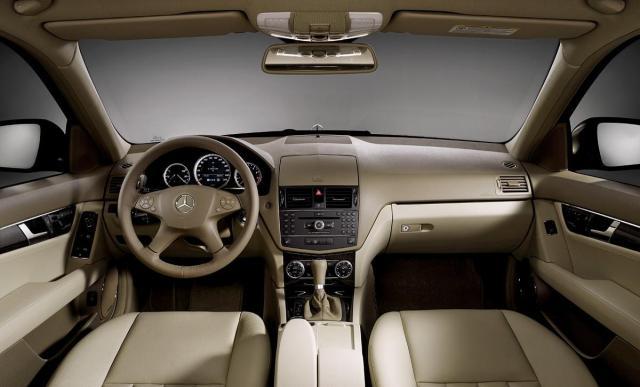 Nội thất hiện đại của Mercedes benz c200