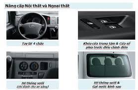 Những đổi mới của Toyotal Hiace so với xe cũ