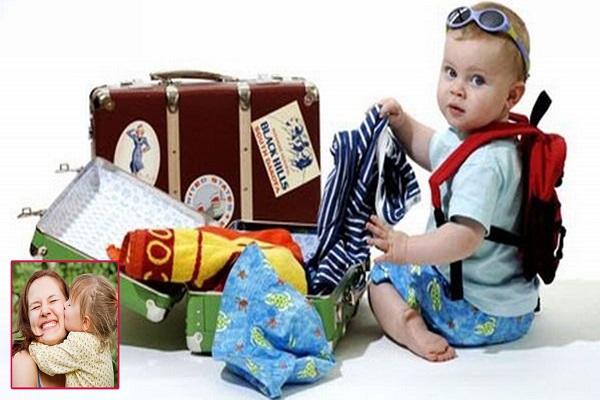 Cùng con tự chuẩn bị đồ cho chuyến đi