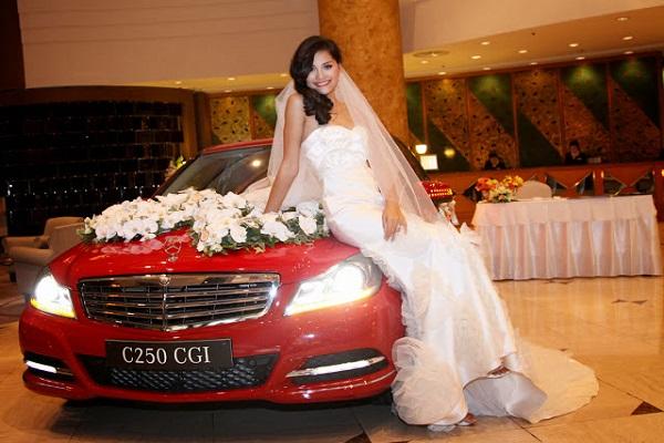 Kinh nghiệm thuê xe cưới Mercedes bạn nên biết
